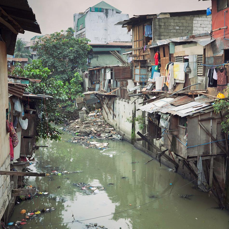 Consequências da falta de saneamento básico: Poluição