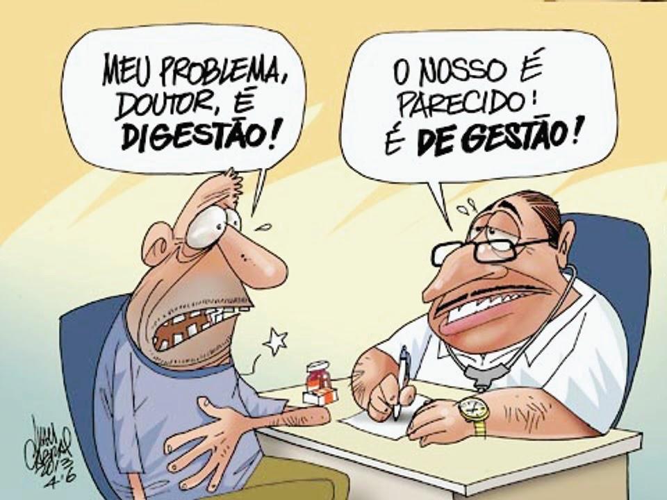 O problema da saúde brasileira está na má gestão dos recursos.