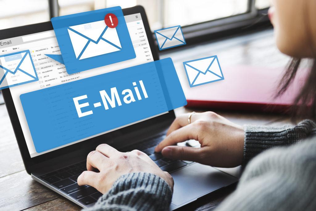 Muitos e-mails é um desperdiçador de tempo