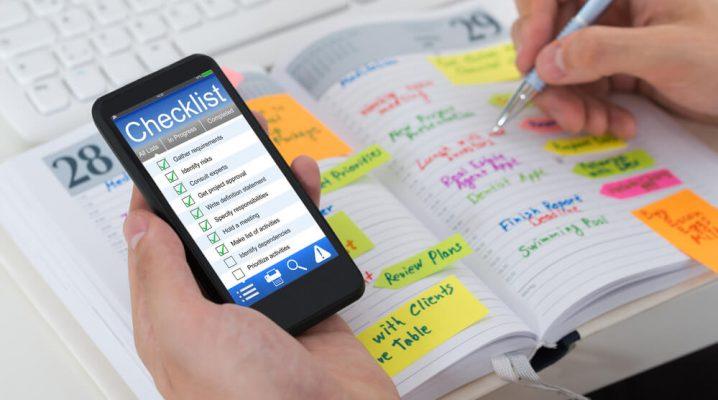 Planejamento de atividades e prioridades
