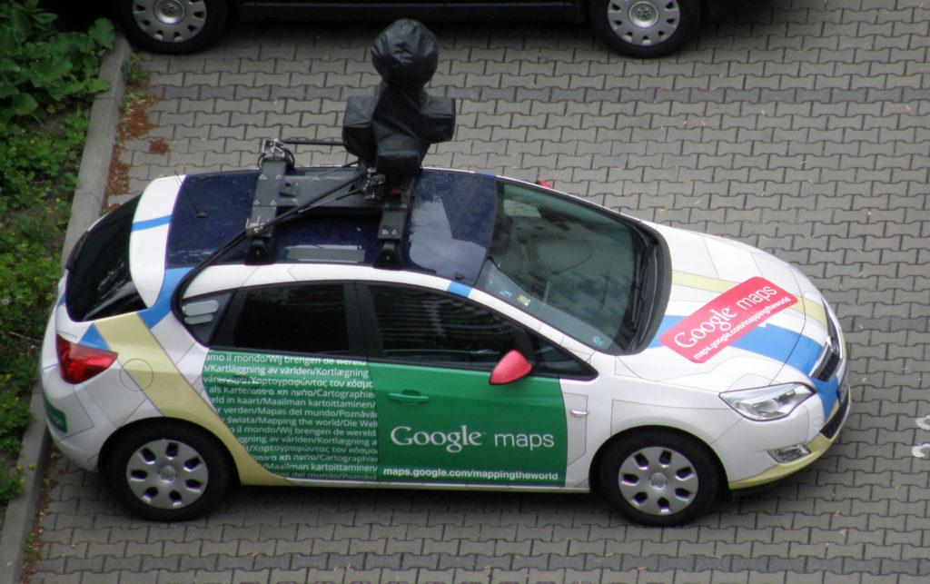 Carro Google Maps