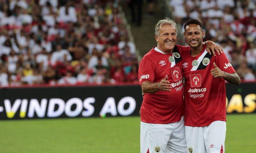 Comentarista coloca Neymar no mesmo patamar de Zico na Seleção Brasileira