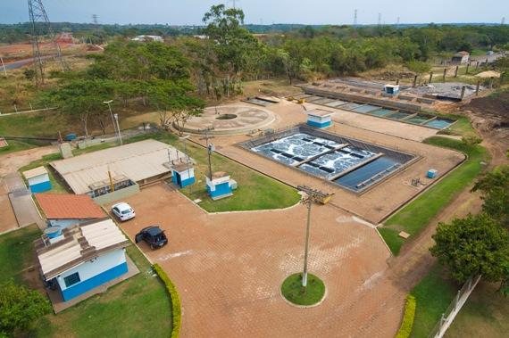 ETE Sanesul - Tratamento de esgoto no Brasil