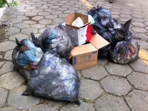 resíduos domésticos