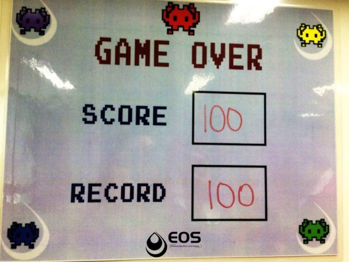 Game Over EOS utilizado como melhoria