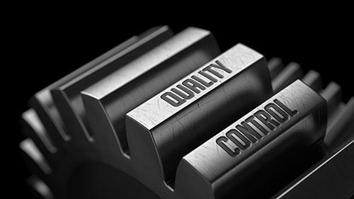 As engrenagens do controle de qualidade