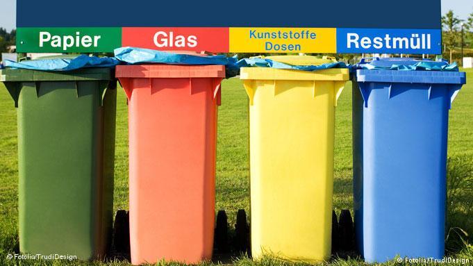 Alemanha no tratamento do lixo