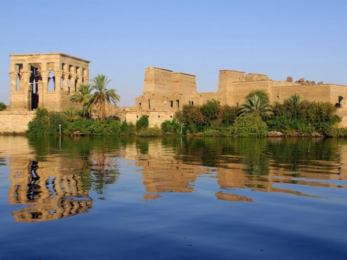 Sistema de irrigação no Egito