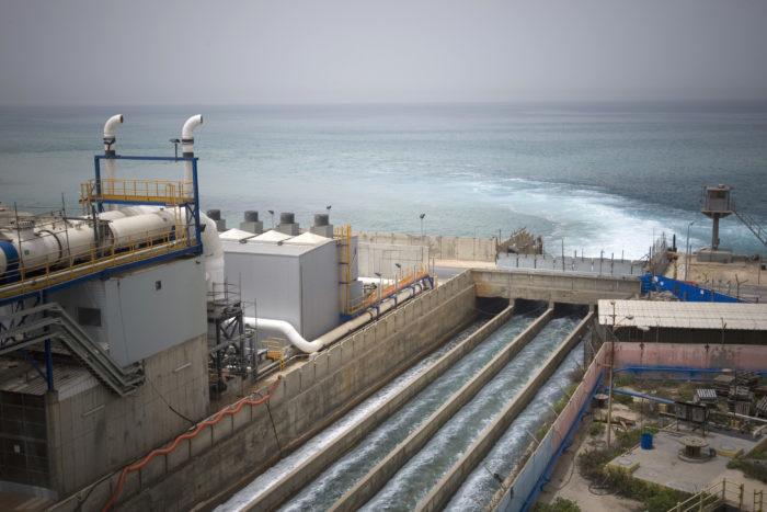 Usina de dessalinização