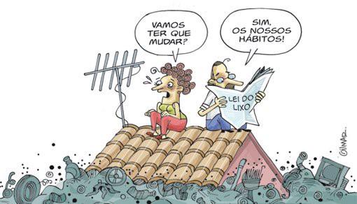 resíduos sólidos e a mudança da sociedade