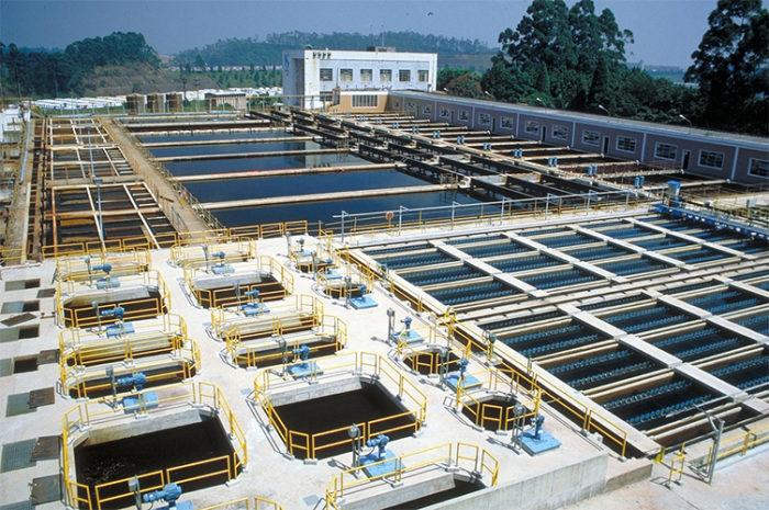Tratamento de água em sistema de abastecimento de água