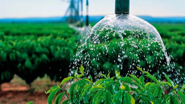 Água para agricultura