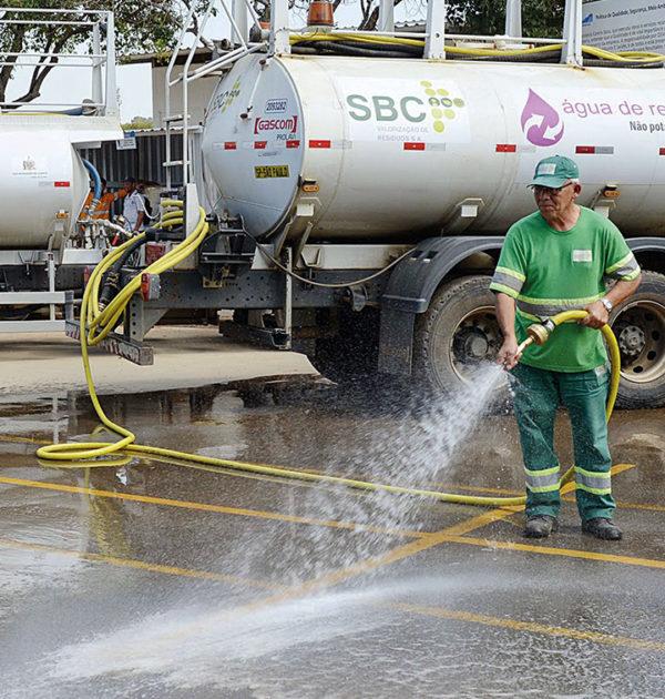 Água de reúso na economia circular
