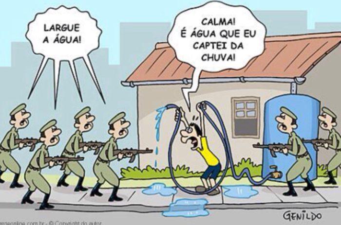 Guerra por água potável