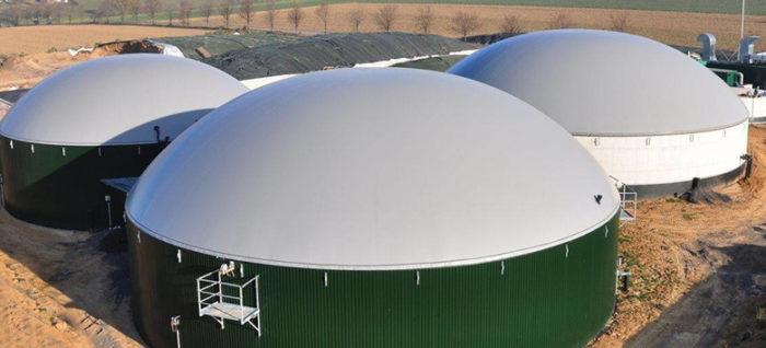 Biogás para gerar energia elétrica