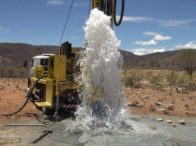 Exploração de poços e recursos hídricos