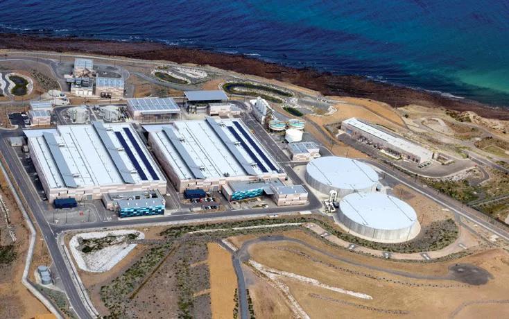 Dessalinização da água em Israel