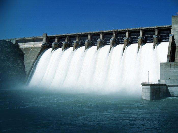 Consumo de água por hidrelétrica