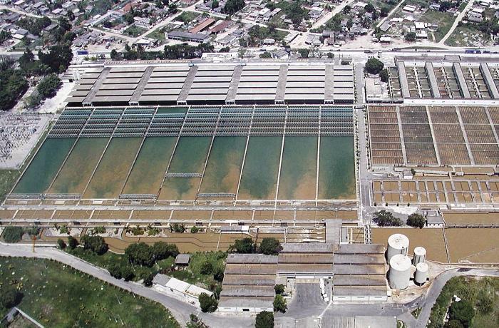 Estação de tratamento de água Guandu