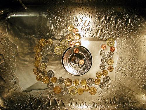 Perdas financeiras com o extravio de água tratada