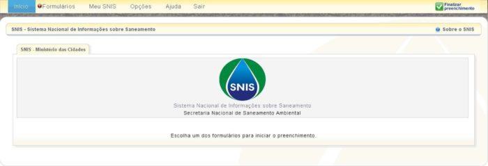 Sistema Nacional de Informações sobre o Saneamento