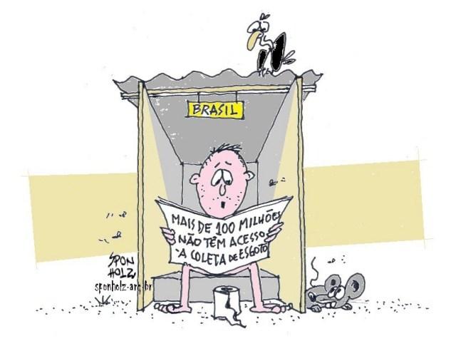 Falta de Saneamento Basico no Brasil