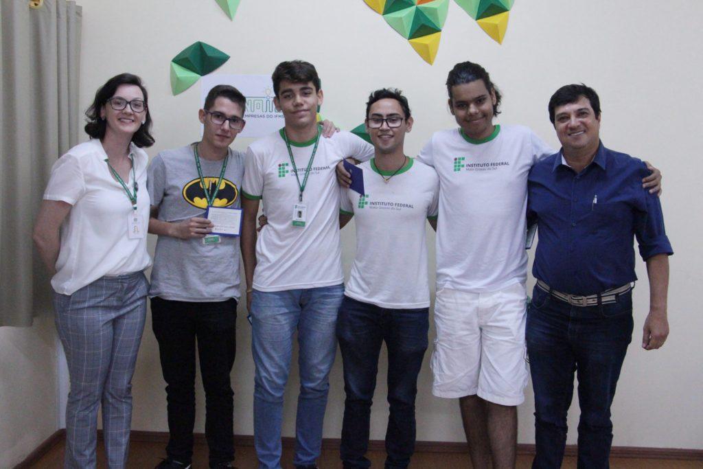 Primeiro lugar Hackathon EOS-IFMS