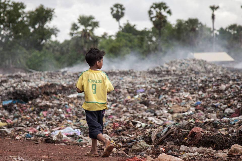 Defasagem em obras de saneamento