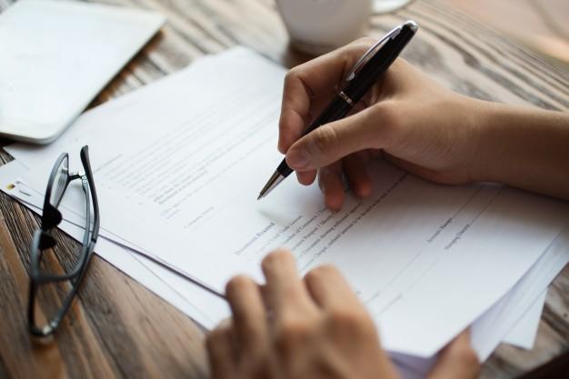 Contrato de performance - Assinatura de contrato