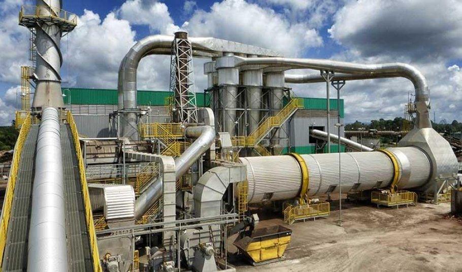 Sistema de Secagem e Processamento de Resíduos